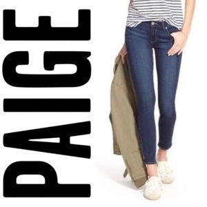 PAIGE Verdugo Ankle Jeans in Tristan Wash Size 28